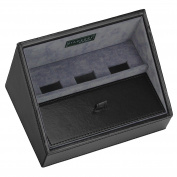 STACKERS - Men's Charging Valet - Executive Black STACKER Charging Valet with Black Lining