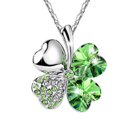 FANSING Jewellery Christmas Gift Shining Crystal Pendant Necklaces for Women Girls