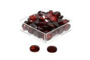 Birth Stone Jewels 5x3mm Garnet Oval Cut Cubic Zirconia Gem Stones Pack Of 2