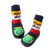 Zhuhaixmy Baby Infants Cute Frog Toddler Anti-Slip Sock Shoes Boots Slipper Socks