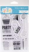 Cake Polymer Stamps - Elements