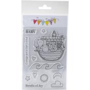 Jane's Doodles Clear Stamps 10cm x 15cm -Noah's Ark