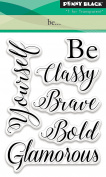 Penny Black Be... Clear Unmounted Rubber Stamp Set