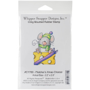 Whipper Snapper Cling Stamp 10cm x 15cm -Fletcher's Christmas Cheese