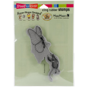 Stampendous House Mouse Cling Stamp 17cm x 11cm -Butterfly Ride