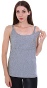 Simplicity Women's Adjustable Breast Feeding / Nursing Tank Top
