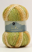 DY Choice LA PAZ Aran Knitting Yarn MOHAIR & ALPACA 100g 07 Lime