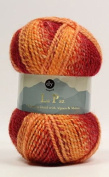 DY Choice LA PAZ Aran Knitting Yarn MOHAIR & ALPACA 100g 04 Flame