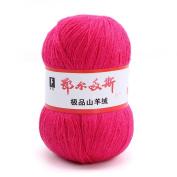 wool knitting yarn - ERDOS Generic 10 x luxurious Cashmere Reiner Mongolian cashmere wool knitting yarn 50g rose red
