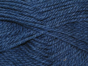Wendy Traditional 100% Wool Knitting Yarn Aran 184 Deep Sea - per 100 gramme ball