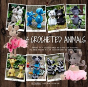 Go Handmade Toy Crochet Pattern Book 14 Crocheted Animals