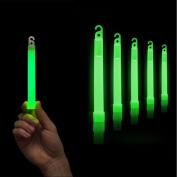Wanshop 5 Pcs Premium Bright Green Glow Sticks Fluorescent Neon Party Hot Gift