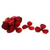 DealMux Wedding Party Bridal Table Fabric Flower Petal Decorations 200 PCS Red