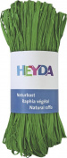 HEYDA Natural Raffia, Apple Green