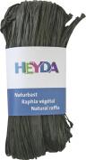 HEYDA Raffia, Natural Black