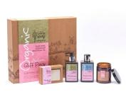 Organic Beauty Artisan Gift Pack - Pure Rose Geranium - Little Soap Company