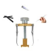 Medical Grade Ingrown Toenail Orthotics Correction Brace Kit, Professional Toe Nail Care Pedicure Manicure Set Toe Clamp Parnonychia Treatment Tool Toenail Correction Tool CompuClever