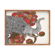 DENY Designs Valentina Ramos Dreams of India Rectangular Tray, X-Large