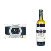 Smart Electronic Wine Thermometer,Digital Thermometer For Recording Temperature Red Wine