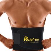 relefree RGLABLE Sweat Belt Waist Trimmer Sport Premium acclrer Weight Loss For Women Men