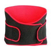Double Layer Waist Trimmer, Neoprene Sweat Belt, Adjustable Caloric Burner, Sauna Band – Increases Core Stability & Metabolic Rate while Shedding Excess Weight for Men & Women
