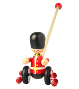 Orange Tree Toys - Soldier - Wooden Push Along