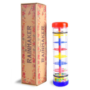 Rainmaker Toy for Babies - Rain Stick Musical Instrument for Kids and Toddlers