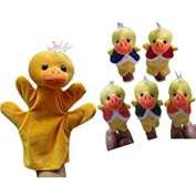 Veroda Finger Puppets Baby Kids Children Story Telling Educational Hand Toy Gift Five Little Ducks