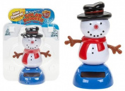 Solar Buddeez - Solar Powered Snowman - Christmas Stocking Filler - Christmas Gifts