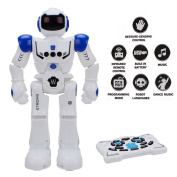 Remote Control Intelligent Robot Toy - Wishtime Smart Action RC Robot Walking Sing Dancing Programmable and Gesture Sensing for Children Kids Entertainment