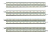 TOMIX N gauge 1047 slab rail S140-SL (F)