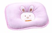 Baby Pillow Velvet,Infants Head Support Pillow Velvet By Sunshine D New Born Pillow Head Form Correct Cute Rabbit Pink