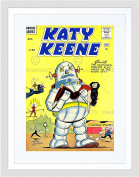 COMIC GIRLS KATY KEENE 1961 NEW BLACK FRAME FRAMED ART PRINT PICTURE B12X10663