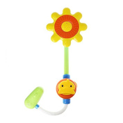 Sunflower Baby Bath Toy, Funny Infants Water Shower Spray Bathtub Play Toys Early Educational Interactive Toys for Kids Gifts