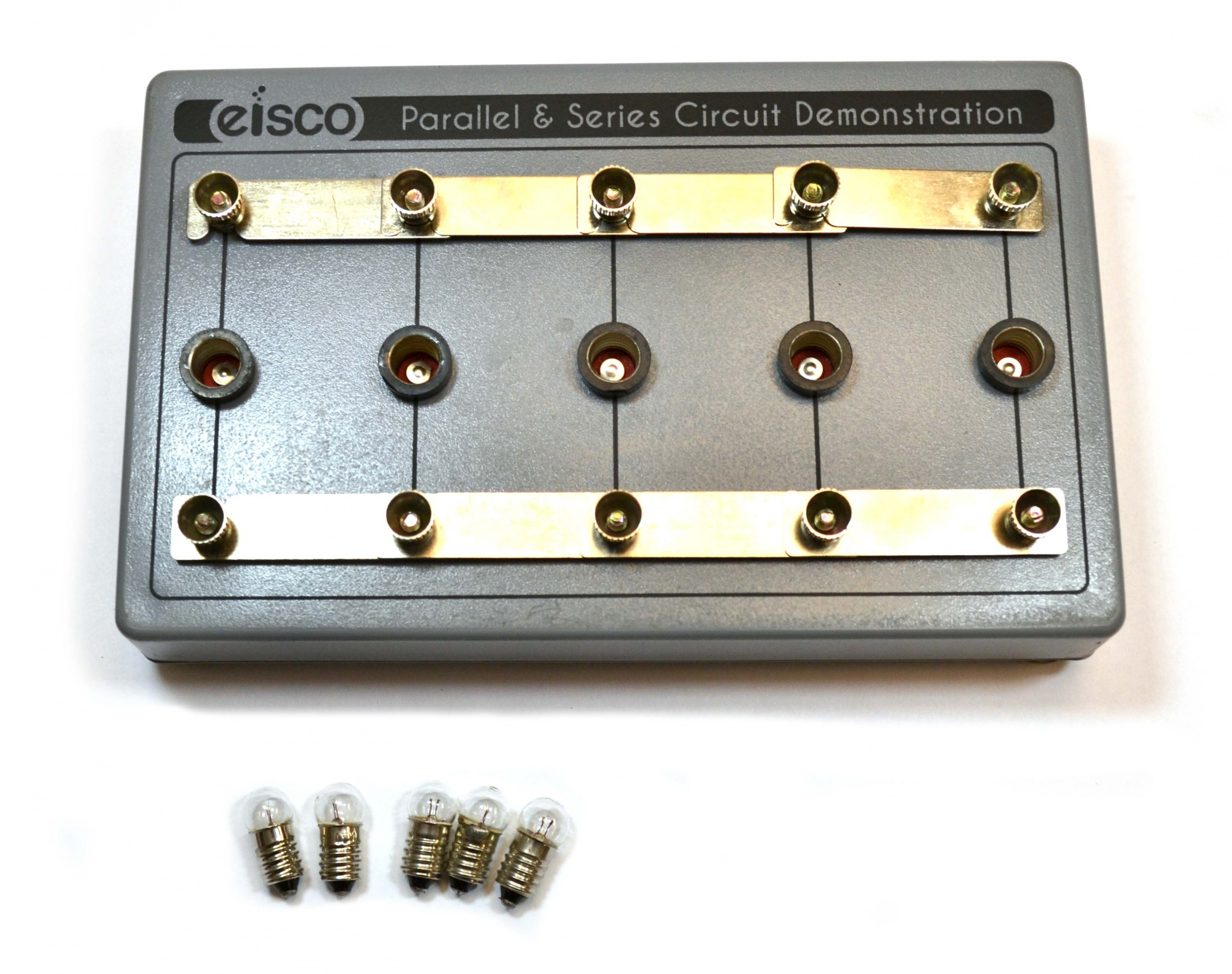 Eisco Labs Parallel & Series Circuit Demonstration. Free Shipping