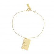 La Môme Bijou Vermeil In The Mood For Love Charm Bracelet of 15-16cm