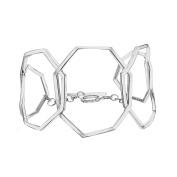 Ron Hami Sterling Silver Geometric Bracelet