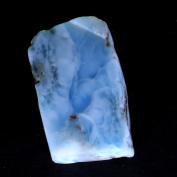 70.70Cts. 100% Natural Sky Blue LARIMAR ROUGH SLAB Speciman Dominican Republic