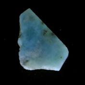 34.70Cts. 100% Natural Sky Blue LARIMAR ROUGH SLAB Speciman Dominican Republic