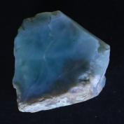 57.50Cts. 100% Natural Sky Blue LARIMAR ROUGH SLAB Speciman Dominican Republic