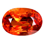 1.15 ct AAA+ Grade Oval Shape (7 x 5 mm) Genuine Ceylon Orange Sapphire Natural Loose Gemstone