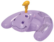 90cm Purple Inflatable Ride-On Hippo with Squirter Swimming Pool Toy