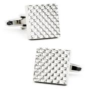 Men's Cufflinks Inc Apex Square Cufflinks