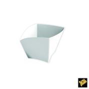 Single-Dose Finger Food Cup Curve PS 90 cc CFZ 25PZ Bianco