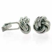 Sterling Silver Designer Inspired Knot Cufflinks