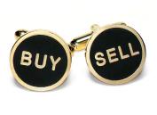 Gold-Tone Men's Cuff Links BUY / SELL Cufflinks
