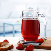 Glass Pitcher,Water Carafe Glass Water Jug Household Use Cold Water Glass Kettle Glass Transparent Juice Jug Large Capacity