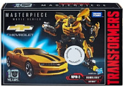 Hasbro Transformers 5 bumblebee 10th anniversary edition toy model