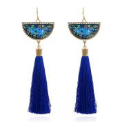 bismarckbeer Retro Tassels Women Hook Earrings Drop Earrings Romantic Gift for Women