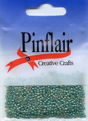 Pinflair Tiny Glass Beads - Jade, 10g approx